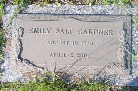 SALE GARDNER, EMILY - Hancock County, Mississippi | EMILY SALE GARDNER - Mississippi Gravestone Photos