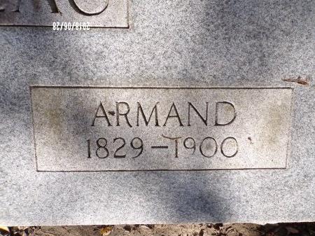 GARREAU, ARMAND (CLOSE UP) - Hancock County, Mississippi | ARMAND (CLOSE UP) GARREAU - Mississippi Gravestone Photos