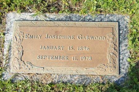 GARWOOD, EMILY JOSEPHINE - Hancock County, Mississippi | EMILY JOSEPHINE GARWOOD - Mississippi Gravestone Photos
