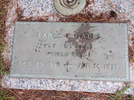 GATES (VETERAN WWI), EARLE F (NEW) - Hancock County, Mississippi   EARLE F (NEW) GATES (VETERAN WWI) - Mississippi Gravestone Photos