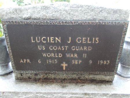 GELIS (VETERAN WWII), LUCIEN J (NEW) - Hancock County, Mississippi | LUCIEN J (NEW) GELIS (VETERAN WWII) - Mississippi Gravestone Photos