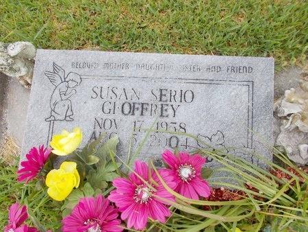 SERIO GEOFFREY, SUSAN - Hancock County, Mississippi | SUSAN SERIO GEOFFREY - Mississippi Gravestone Photos