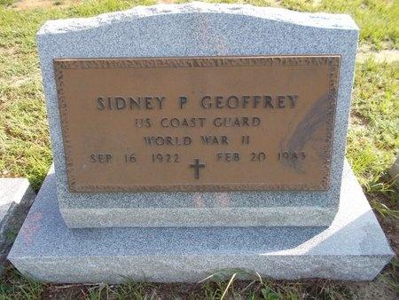 GEOFFREY (VETERAN WWII), SIDNEY P (NEW) - Hancock County, Mississippi   SIDNEY P (NEW) GEOFFREY (VETERAN WWII) - Mississippi Gravestone Photos