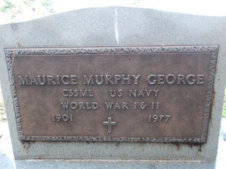 GEORGE (VETERAN 2 WARS), MAURICE MURPHY (NEW) - Hancock County, Mississippi | MAURICE MURPHY (NEW) GEORGE (VETERAN 2 WARS) - Mississippi Gravestone Photos