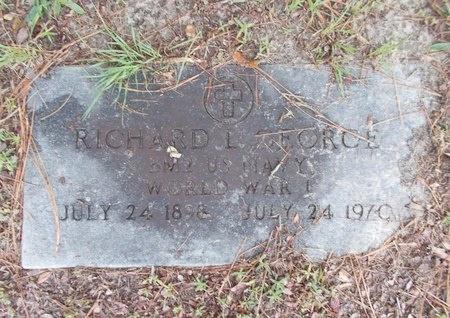 GEORGE (VETERAN WWI), RICHARD L (NEW) - Hancock County, Mississippi | RICHARD L (NEW) GEORGE (VETERAN WWI) - Mississippi Gravestone Photos