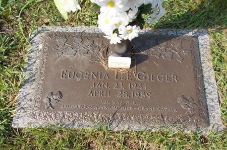 GIEGER, EUGENIA LEE - Hancock County, Mississippi | EUGENIA LEE GIEGER - Mississippi Gravestone Photos