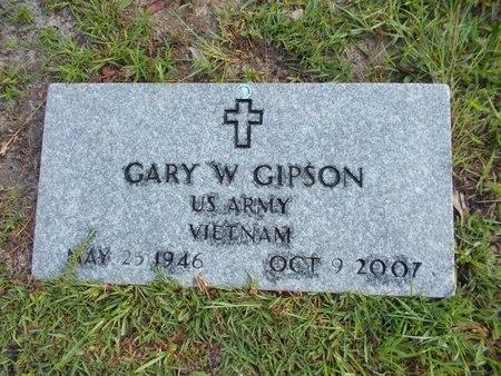 GIPSON (VETERAN VIET), GARY W (NEW) - Hancock County, Mississippi | GARY W (NEW) GIPSON (VETERAN VIET) - Mississippi Gravestone Photos
