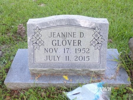 GLOVER, JEANINE D (OBIT) - Hancock County, Mississippi | JEANINE D (OBIT) GLOVER - Mississippi Gravestone Photos