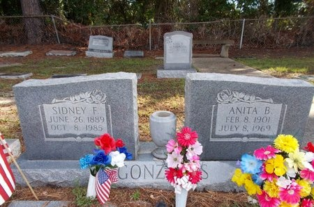 GONZALES, SIDNEY F - Hancock County, Mississippi | SIDNEY F GONZALES - Mississippi Gravestone Photos