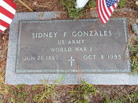GONZALES (VETERAN WWI), SIDNEY F (NEW) - Hancock County, Mississippi | SIDNEY F (NEW) GONZALES (VETERAN WWI) - Mississippi Gravestone Photos