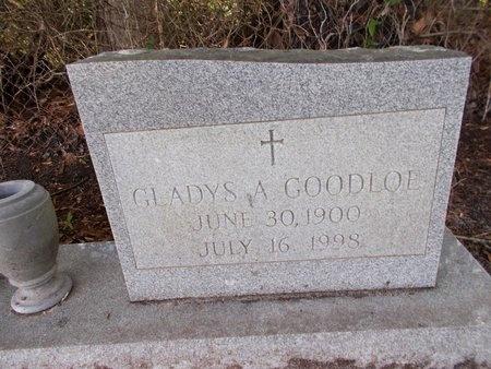 GOODLOE, GLADYS A - Hancock County, Mississippi | GLADYS A GOODLOE - Mississippi Gravestone Photos