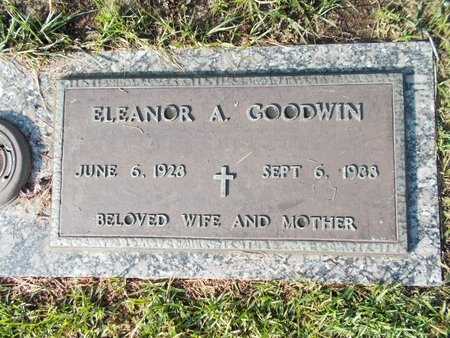 GOODWIN, ELEANOR A - Hancock County, Mississippi   ELEANOR A GOODWIN - Mississippi Gravestone Photos