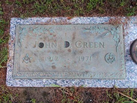GREEN, JOHN D - Hancock County, Mississippi | JOHN D GREEN - Mississippi Gravestone Photos