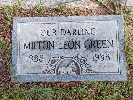 GREEN, MILTON LEON - Hancock County, Mississippi   MILTON LEON GREEN - Mississippi Gravestone Photos