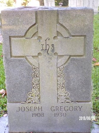 GREGORY, JOSEPH - Hancock County, Mississippi | JOSEPH GREGORY - Mississippi Gravestone Photos