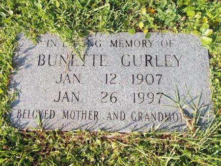 GURLEY, BUNETTE - Hancock County, Mississippi | BUNETTE GURLEY - Mississippi Gravestone Photos