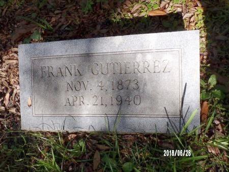 GUTIERREZ, FRANK - Hancock County, Mississippi | FRANK GUTIERREZ - Mississippi Gravestone Photos
