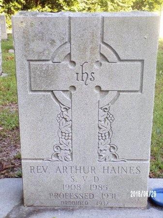 HAINES, REV, ARTHUR - Hancock County, Mississippi | ARTHUR HAINES, REV - Mississippi Gravestone Photos