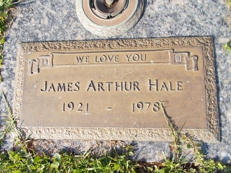HALE, JAMES ARTHUR - Hancock County, Mississippi | JAMES ARTHUR HALE - Mississippi Gravestone Photos