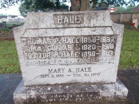 HALE, IRMA A - Hancock County, Mississippi | IRMA A HALE - Mississippi Gravestone Photos