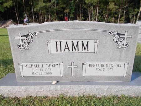 "HAMM, MICHAEL J ""MIKE"" - Hancock County, Mississippi | MICHAEL J ""MIKE"" HAMM - Mississippi Gravestone Photos"