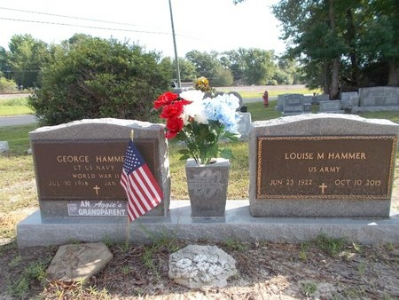 HAMMER, LOUISE M - Hancock County, Mississippi | LOUISE M HAMMER - Mississippi Gravestone Photos