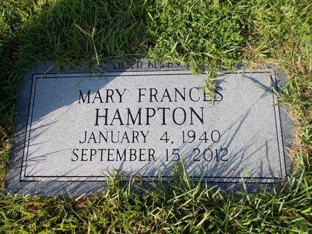 HAMPTON, MARY FRANCES - Hancock County, Mississippi   MARY FRANCES HAMPTON - Mississippi Gravestone Photos