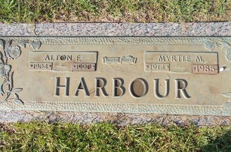 HARBOUR, MYRTLE M - Hancock County, Mississippi | MYRTLE M HARBOUR - Mississippi Gravestone Photos