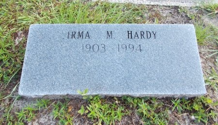 HARDY, IRMA H - Hancock County, Mississippi | IRMA H HARDY - Mississippi Gravestone Photos