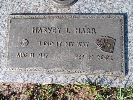 HARR, HARVEY L - Hancock County, Mississippi | HARVEY L HARR - Mississippi Gravestone Photos