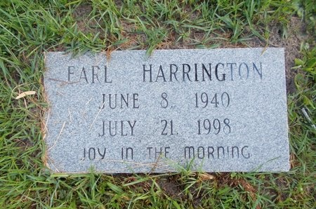 HARRINGTON, EARL - Hancock County, Mississippi | EARL HARRINGTON - Mississippi Gravestone Photos