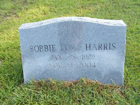 HARRIS, BOBBIE LOVE - Hancock County, Mississippi | BOBBIE LOVE HARRIS - Mississippi Gravestone Photos