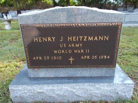 HEITZMANN (VETERAN WWII), HENRY J (NEW) - Hancock County, Mississippi | HENRY J (NEW) HEITZMANN (VETERAN WWII) - Mississippi Gravestone Photos
