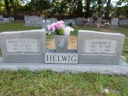 HELWIG, ALEXANDER R., SR - Hancock County, Mississippi | ALEXANDER R., SR HELWIG - Mississippi Gravestone Photos