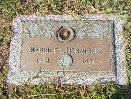 HENNESSEY, MAURICE L - Hancock County, Mississippi   MAURICE L HENNESSEY - Mississippi Gravestone Photos
