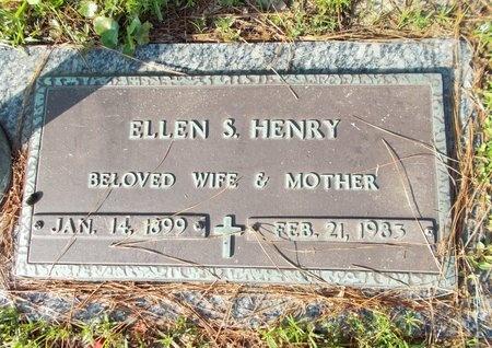 HENRY, ELLEN S - Hancock County, Mississippi | ELLEN S HENRY - Mississippi Gravestone Photos