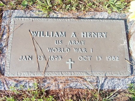 HENRY, WILLIAM A - Hancock County, Mississippi | WILLIAM A HENRY - Mississippi Gravestone Photos