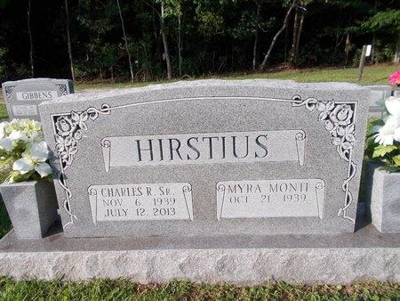 HIRSTIUS, CHARLES R., SR - Hancock County, Mississippi | CHARLES R., SR HIRSTIUS - Mississippi Gravestone Photos