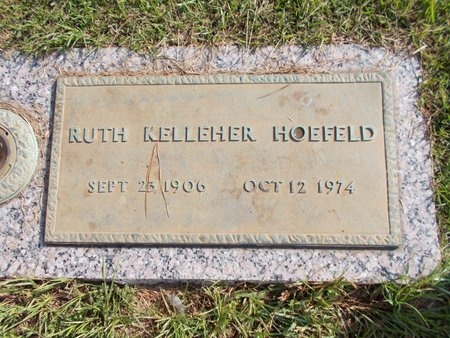 HOEFELD, RUTH - Hancock County, Mississippi | RUTH HOEFELD - Mississippi Gravestone Photos