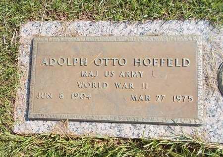 HOEFELD (VETERAN WWII), ADOLPH OTTO (NEW) - Hancock County, Mississippi | ADOLPH OTTO (NEW) HOEFELD (VETERAN WWII) - Mississippi Gravestone Photos