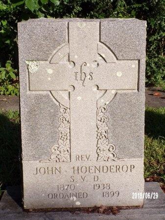 HOENDEROP, REV, JOHN - Hancock County, Mississippi | JOHN HOENDEROP, REV - Mississippi Gravestone Photos
