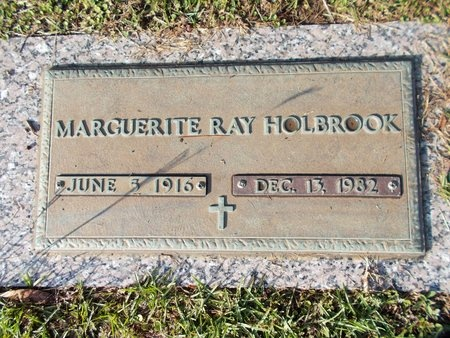 HOLBROOK, MARGUERITE RAY - Hancock County, Mississippi | MARGUERITE RAY HOLBROOK - Mississippi Gravestone Photos