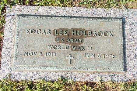 HOLBROOK (VETERAN WWII), EDGAR LEE (NEW) - Hancock County, Mississippi | EDGAR LEE (NEW) HOLBROOK (VETERAN WWII) - Mississippi Gravestone Photos