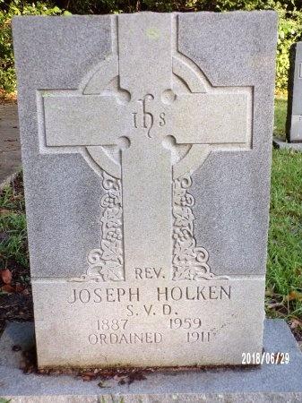 HOLKEN, REV, JOSEPH - Hancock County, Mississippi | JOSEPH HOLKEN, REV - Mississippi Gravestone Photos