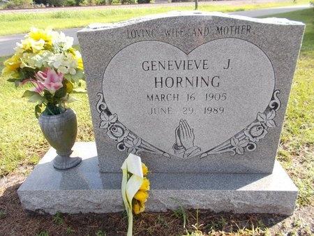 HORNING, GENEVIEVE J - Hancock County, Mississippi | GENEVIEVE J HORNING - Mississippi Gravestone Photos