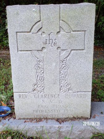 HOWARD, REV, CLARENCE - Hancock County, Mississippi | CLARENCE HOWARD, REV - Mississippi Gravestone Photos