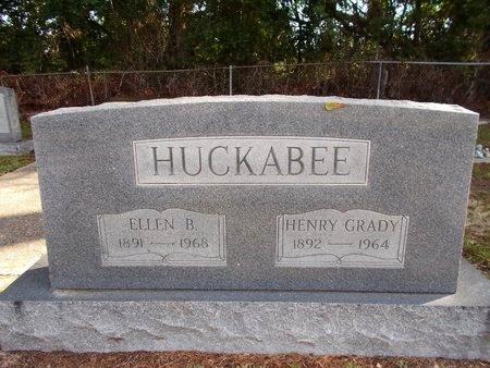 HUCKABEE, ELLEN B - Hancock County, Mississippi | ELLEN B HUCKABEE - Mississippi Gravestone Photos