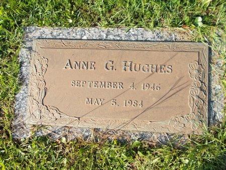 HUGHES, ANNE G - Hancock County, Mississippi   ANNE G HUGHES - Mississippi Gravestone Photos