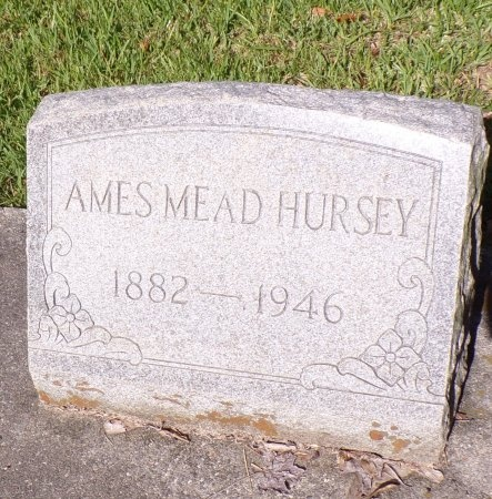 HURSEY, AMES MEAD - Hancock County, Mississippi | AMES MEAD HURSEY - Mississippi Gravestone Photos