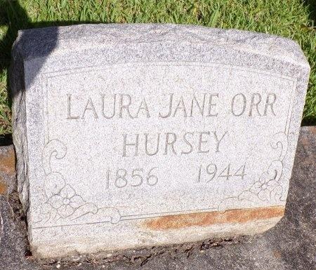 HURSEY, LAURA JANE - Hancock County, Mississippi   LAURA JANE HURSEY - Mississippi Gravestone Photos